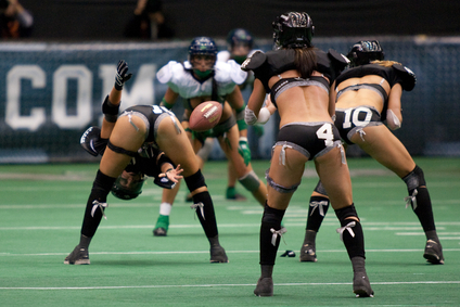 Were Women football lingerie league